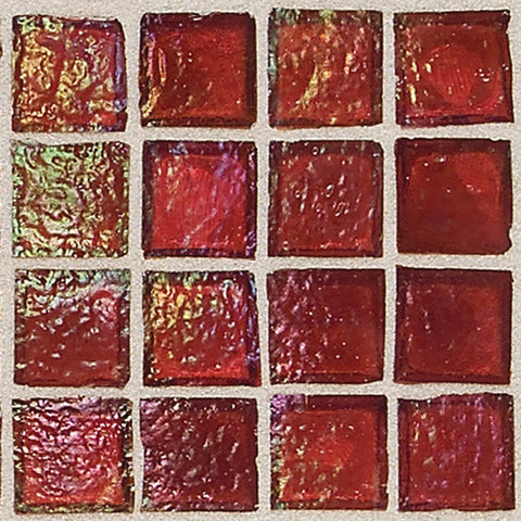 "Daltile Egyptian Glass 12"" x 12"" Rosetta Mosaic"