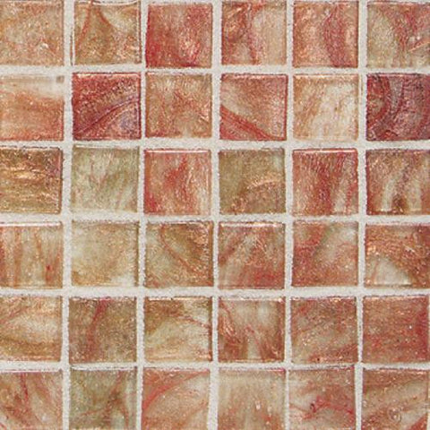 "Daltile Elemental Glass 12"" x 12"" Cinnamon Stick Mosaic"