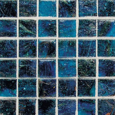 "Daltile Elemental Glass 12"" x 12"" Cornflower Mosaic - American Fast Floors"