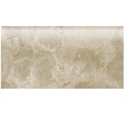 "American Olean Stone Claire 3 x 6 Bluff Wall Bullnose 6"" Side"