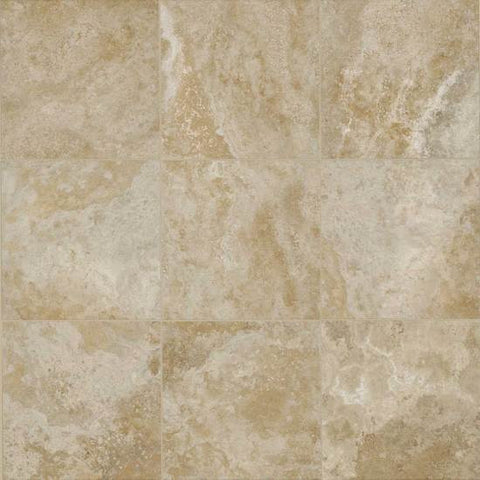American Olean Stone Claire 20 x 20 Bluff Floor Tile - American Fast Floors