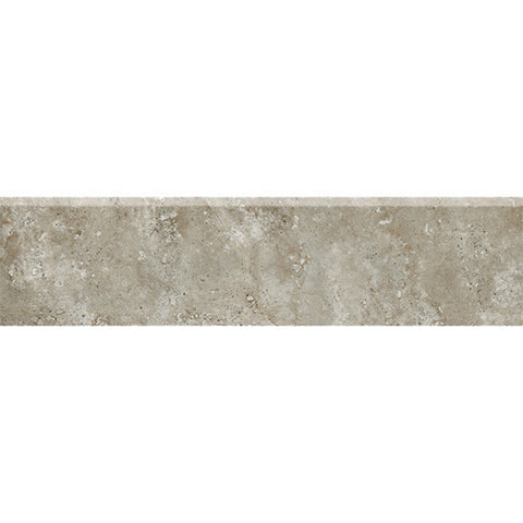 American Olean Stone Claire 3 x 13 Ashen Floor Bullnose