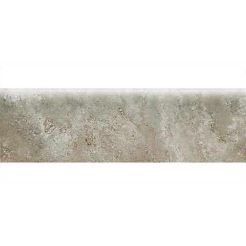 American Olean Stone Claire 3 x 10 Ashen Wall Bullnose