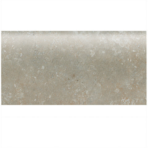 "American Olean Stone Claire 3 x 6 Ashen Wall Bullnose 6"" Side - American Fast Floors"