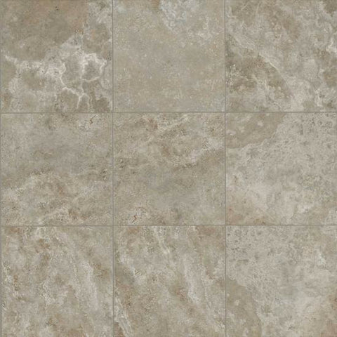 American Olean Stone Claire 20 x 20 Ashen Floor Tile