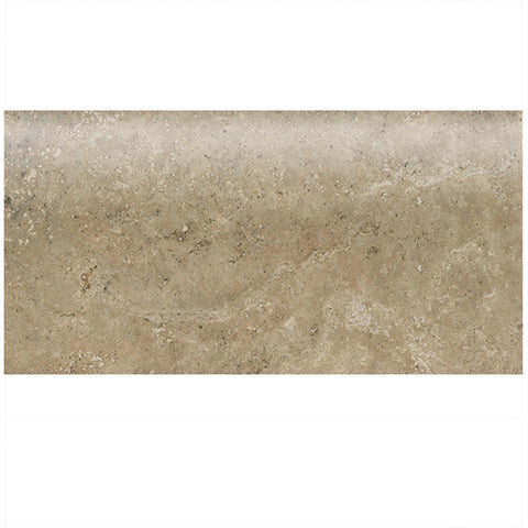 "American Olean Stone Claire 3 x 6 Russet Wall Bullnose 6"" Side"