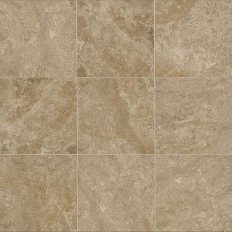 American Olean Stone Claire 13 x 13 Russet Floor Tile