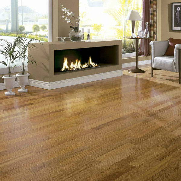 "Triangulo Jatoba Brazilian Cherry 5/16"" x 5"" Engineered Hardwood - American Fast Floors"