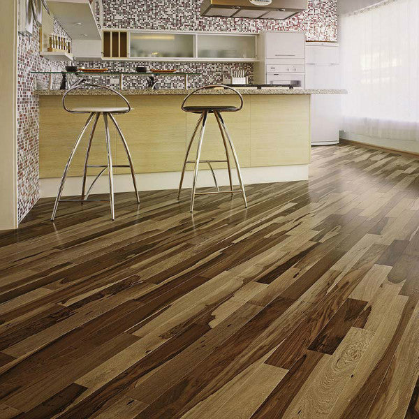 "Triangulo Guajuvira Brazilian Pecan 3/8"" x 3-1/4"" Engineered Hardwood - American Fast Floors"