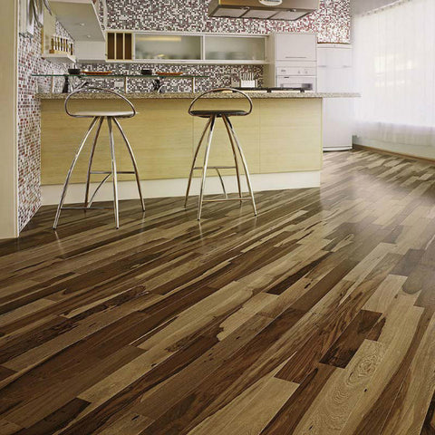 "Triangulo Guajuvira Brazilian Pecan 3/8"" x 3-1/4"" Engineered Hardwood"