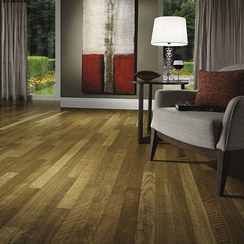 "Triangulo Quaruba Brazilian Ash 3/8"" x 3-1/4"" Engineered Hardwood - American Fast Floors"