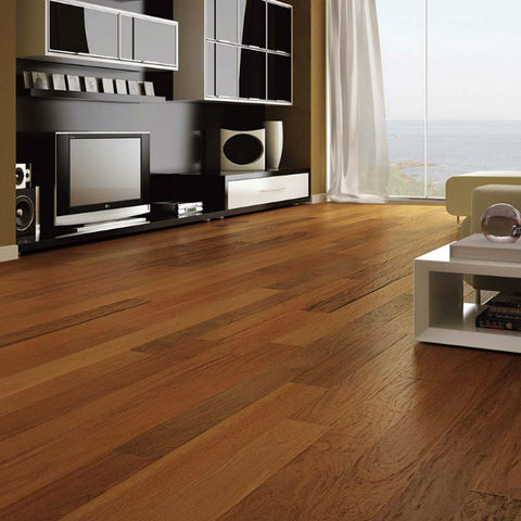 "Triangulo Ipe Brazilian Walnut 3/8"" x 3-1/4"" Engineered Hardwood"
