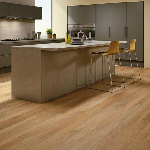 "Triangulo Champagne Spanish Teak 3/8"" x 5"" Engineered Hardwood - American Fast Floors"