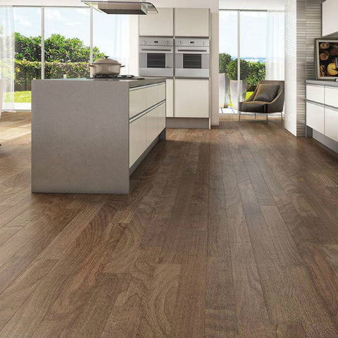 "Triangulo Sahara Spanish Hickory 3/8"" x 5"" Engineered Hardwood"