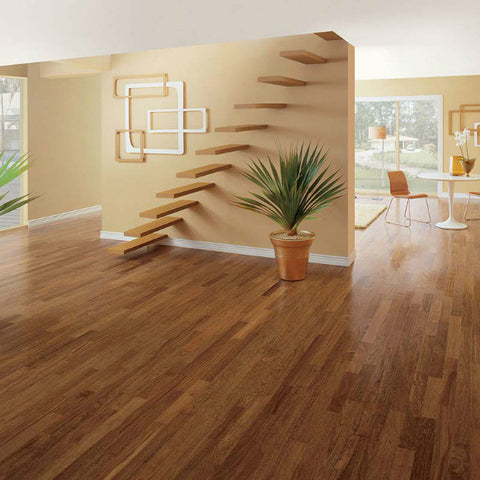 "Triangulo Sucupira Brazilian Chestnut 3/8"" x 3-1/4"" Engineered Hardwood - American Fast Floors"