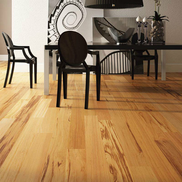 "Triangulo Muiracatiara Tigerwood 1/2"" x 5-1/4"" Engineered Hardwood - American Fast Floors"