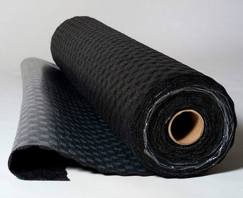 "QTrbm Rubber Underlayment 10mm 54"" X 30' - 135 SF"