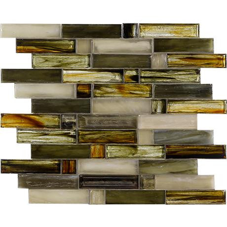 "Marazzi Caicos 12-1/2""x13"" Eagle Beach Glass Mosaic"