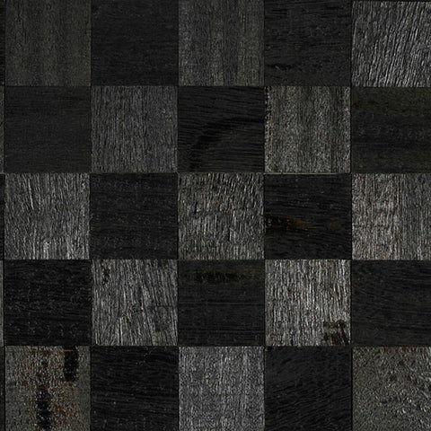 "Coterie Ebony Angelim 5/16"" x 2 3/4"" Sculptured Wall Treatments - American Fast Floors"