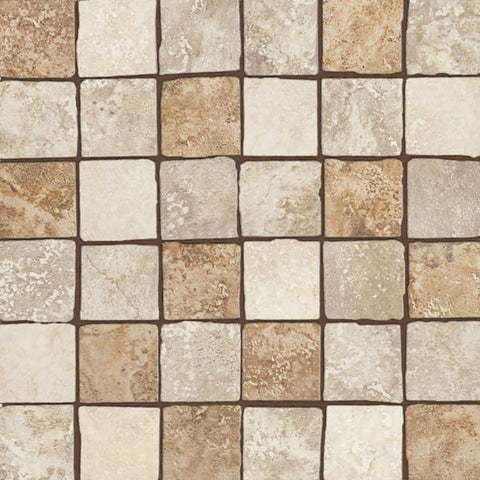 "Equinox 12""X12"" Multicolor Glazed Mosaic - American Fast Floors"