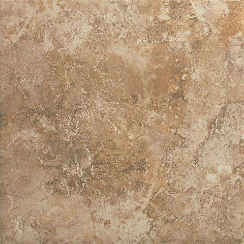 "Equinox 13""X13"" Nocce Glazed Floor Tile"