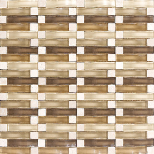 "Daltile Intertwine 11-5/8"" x 11-5/8"" Acoustic Blend Mosaic - American Fast Floors"