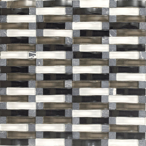 "Daltile Intertwine 11-5/8"" x 11-5/8"" Power Blend Mosaic"