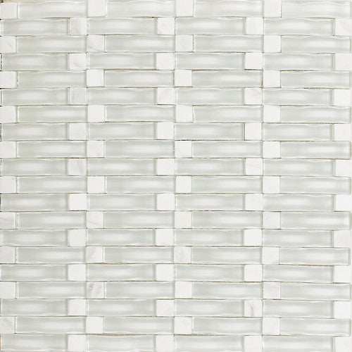 "Daltile Intertwine 11-5/8"" x 11-5/8"" Reflection Blend Mosaic - American Fast Floors"