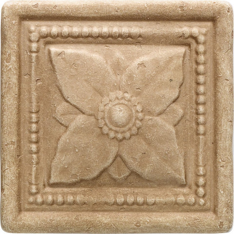 "Daltile Arabesque 4"" x 4"" Sienna Laurel"