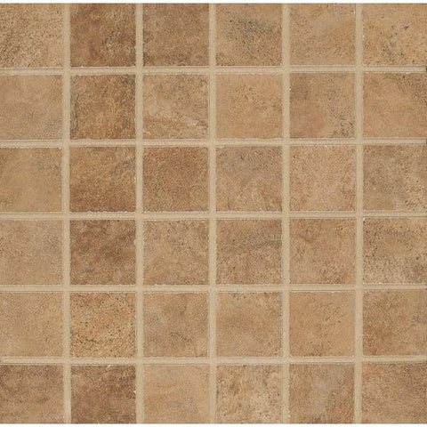 Bedrosians Stonefire Mosaic Noce - American Fast Floors