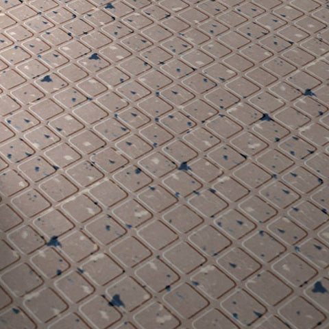 Roppe Fiesta Raised Square Rubber Tile - American Fast Floors