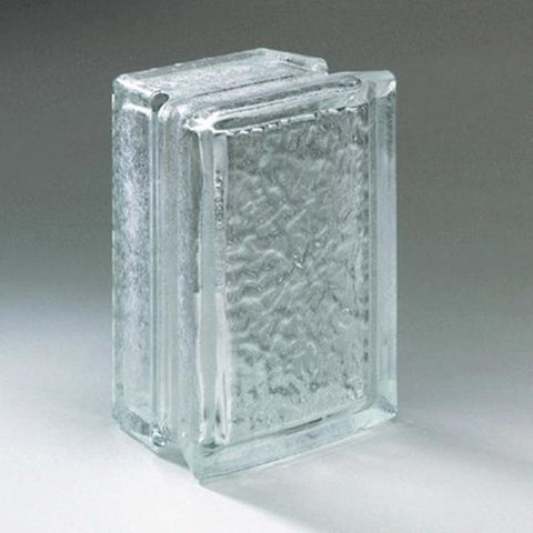 American Olean Glass Block 4 x 8 Icescapes Block