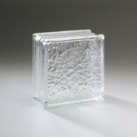 American Olean Glass Block 8 x 8 Icescapes Block