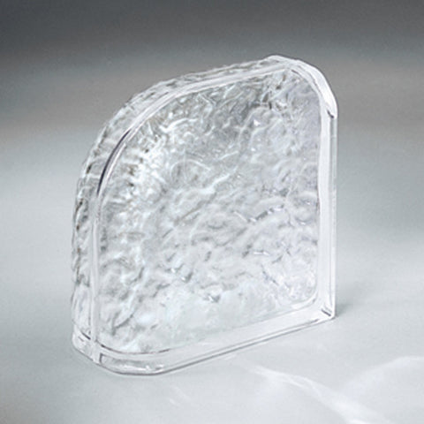 "American Olean Glass Block 8"" Encurve Icescapes Block"