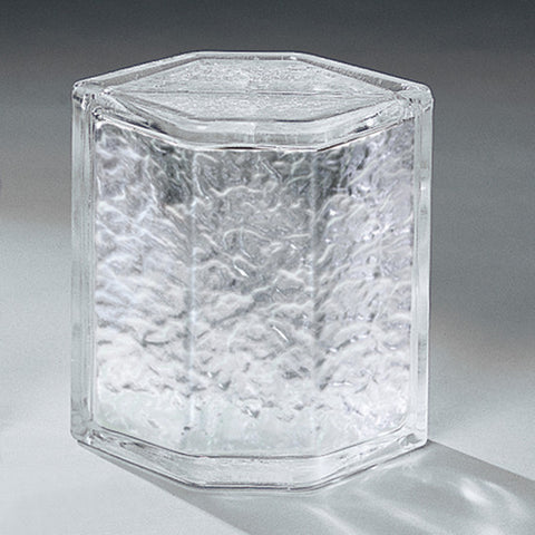 "American Olean Glass Block 8"" Hedron Icescapes Corner"