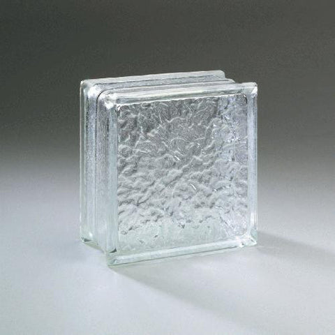 "Daltile Glass Block 3-3/4"" x 7-3/4"" Icescapes Block"