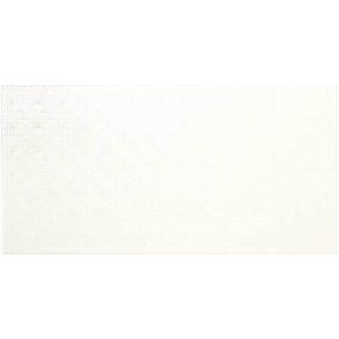 American Olean Graphic Effects 12 x 24 White Space Wall Tile