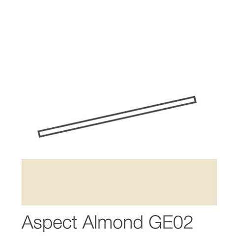 "American Olean Graphic Effects 12"" Aspect Almond Jolly"
