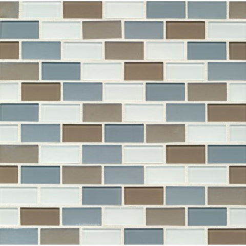 Bedrosians City Glass Mosaic Newport Coast - American Fast Floors