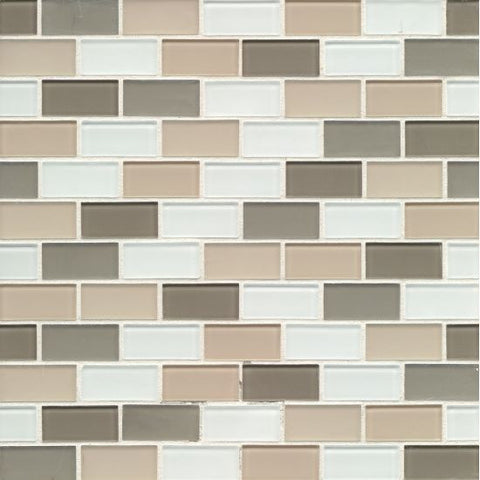 Bedrosians City Glass Mosaic Nob Hill - American Fast Floors