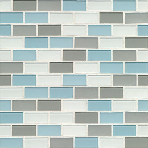 Bedrosians City Glass Mosaic Pacific Heights