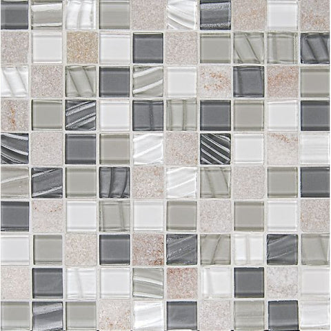Bedrosians Elume Mosaic Heather Grey - American Fast Floors
