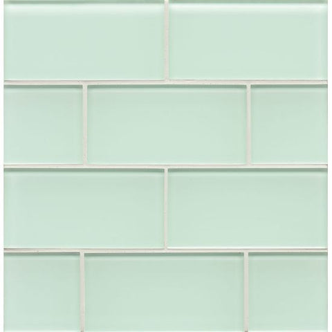 Bedrosians Hamptons Glass Tile Message in a Bottle - American Fast Floors