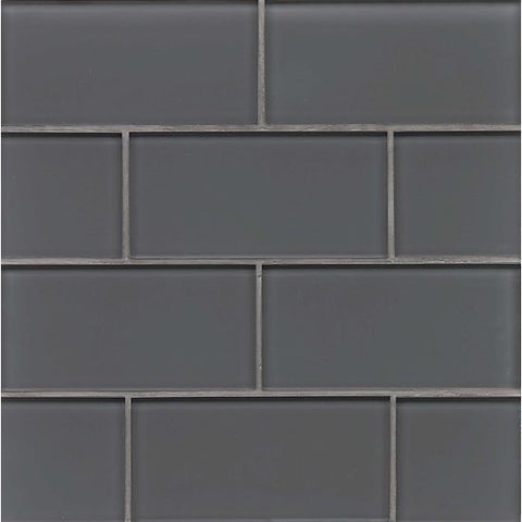 Bedrosians Hamptons Glass Tile Pelican - American Fast Floors