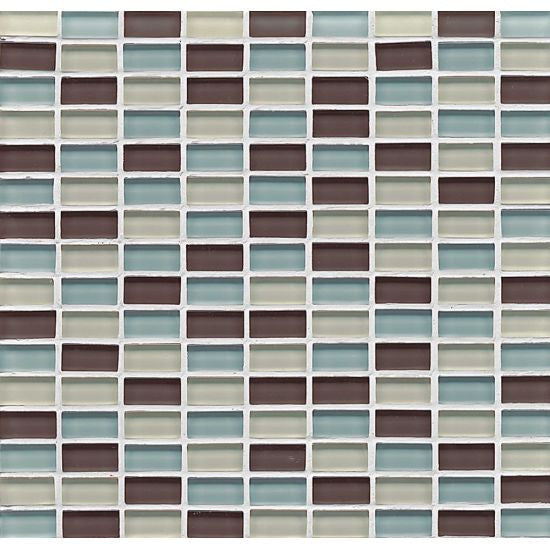 Bedrosians Hamptons Glass Mosaic Seaside - American Fast Floors