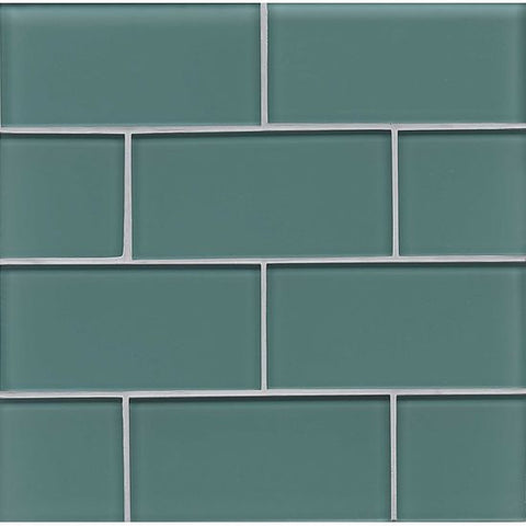 Bedrosians Hamptons Glass Tile Wave