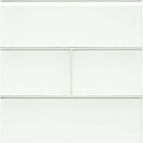Bedrosians Hamptons Glass Tile White Linen - American Fast Floors