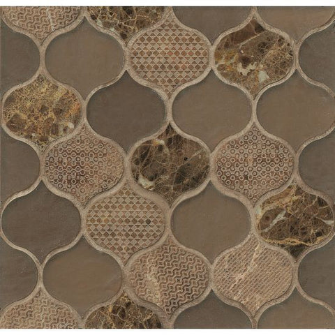 Bedrosians Panache Mosaic Leather - American Fast Floors
