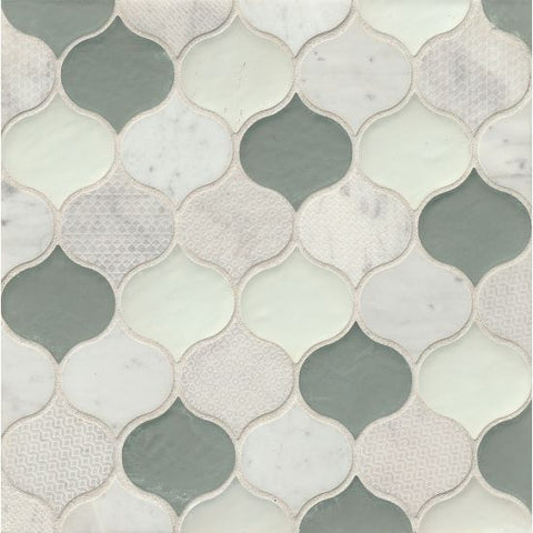Bedrosians Panache Mosaic Sequins - American Fast Floors