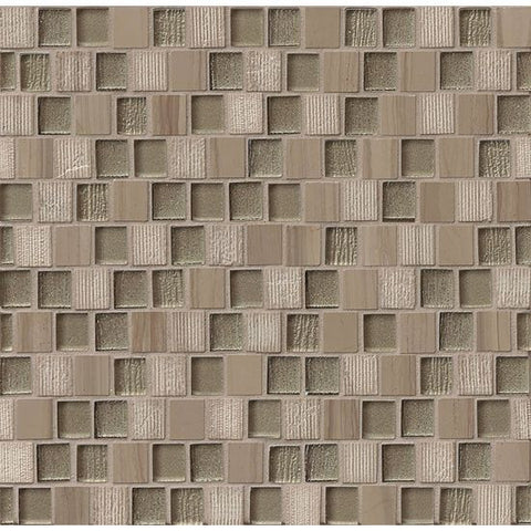 Bedrosians Tessuto Mosaic Taupe - American Fast Floors